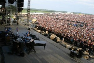 I was in that crowd